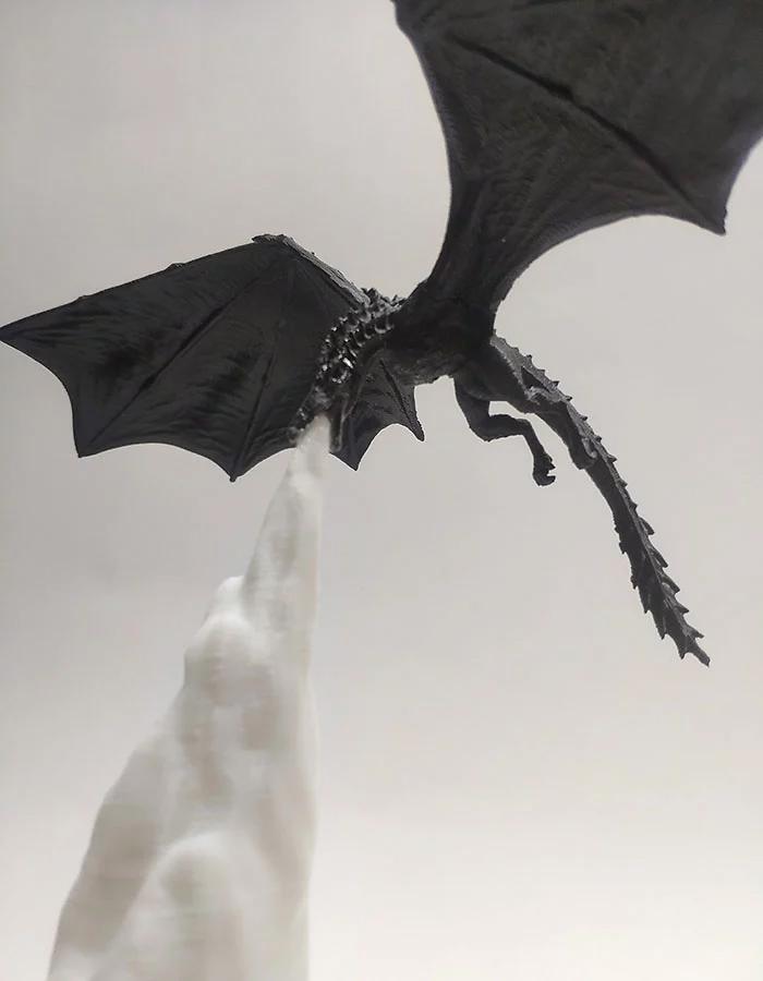 dragon lamp ice