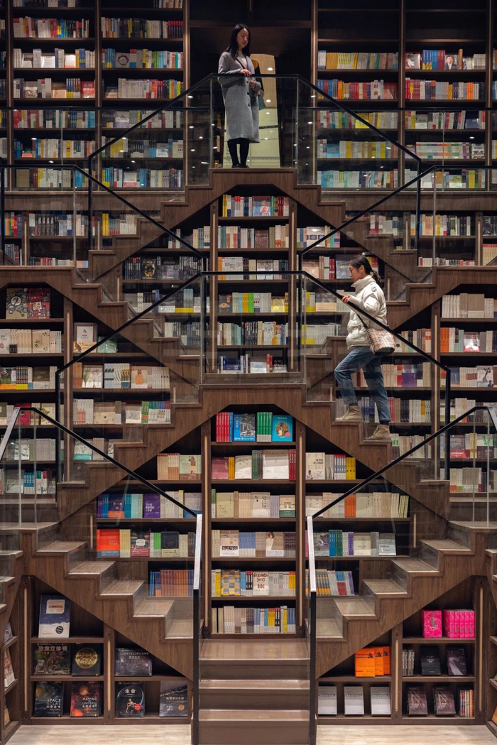 escher relativity inspired bookstore
