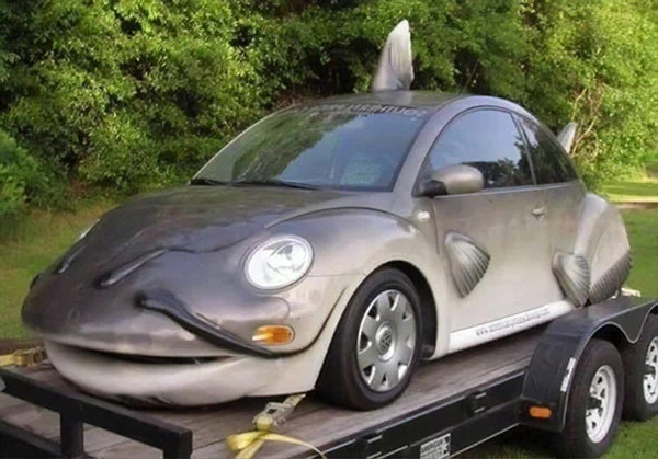 fish car awful taste perfect execution