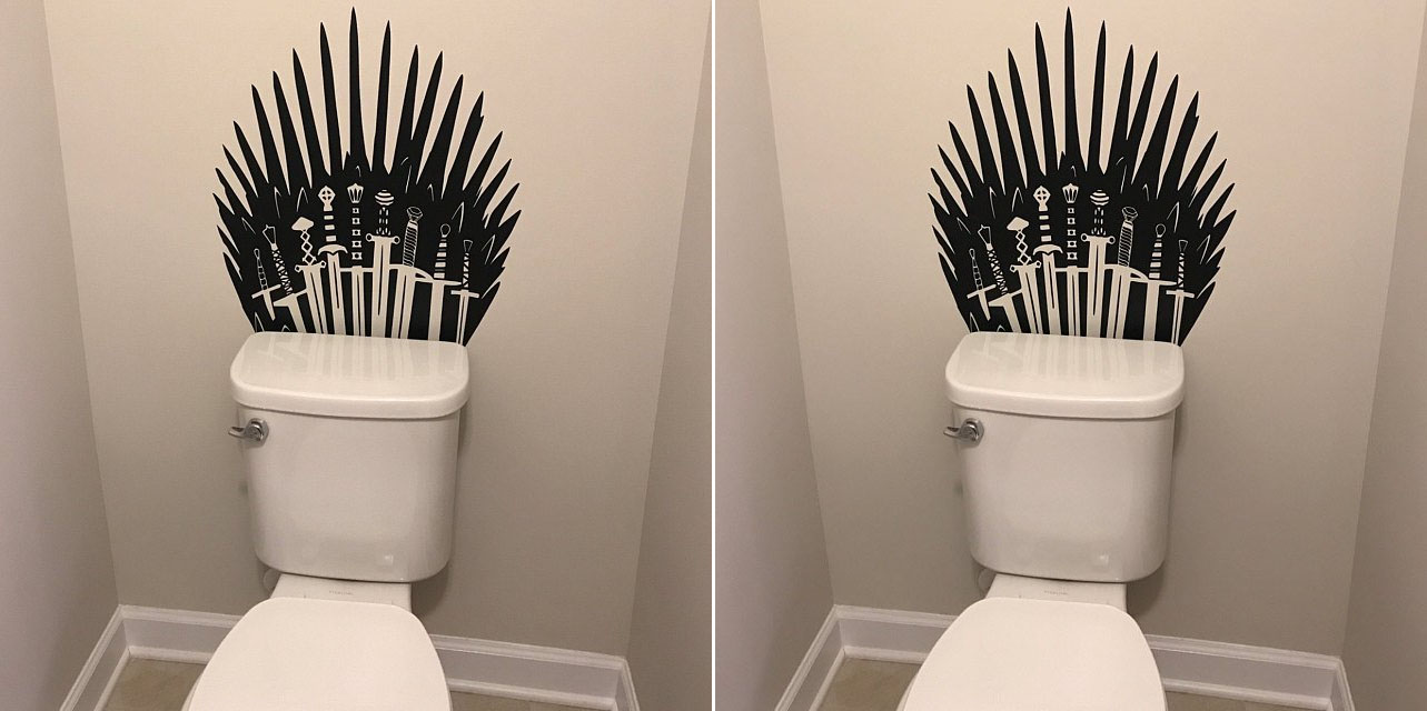 game of thrones toilet decal sticker
