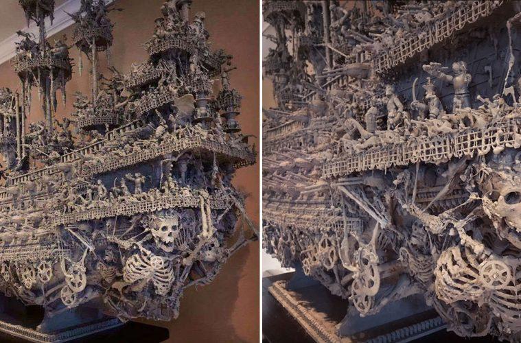 ghost ship model