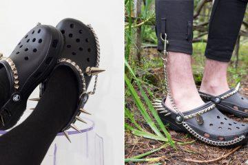 gothic crocs