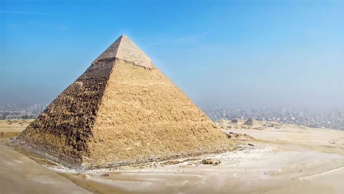 great pyramid of giza now