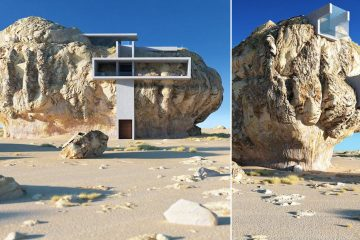 house in a rock