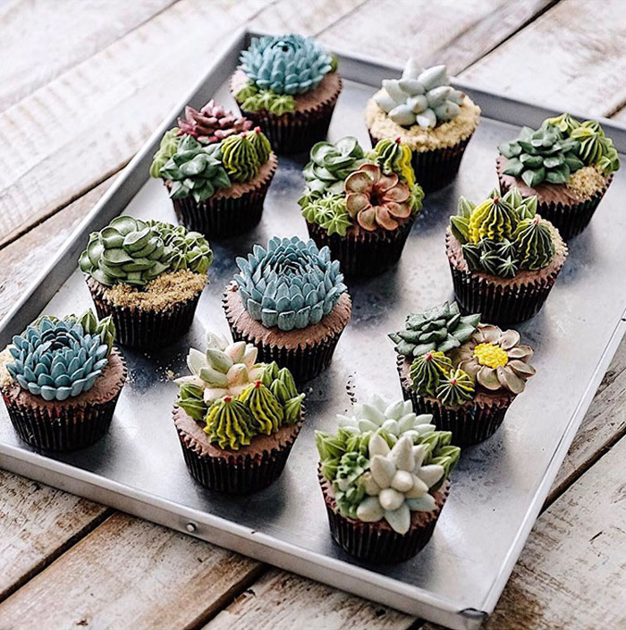 ivenoven succulent cupcakes creations