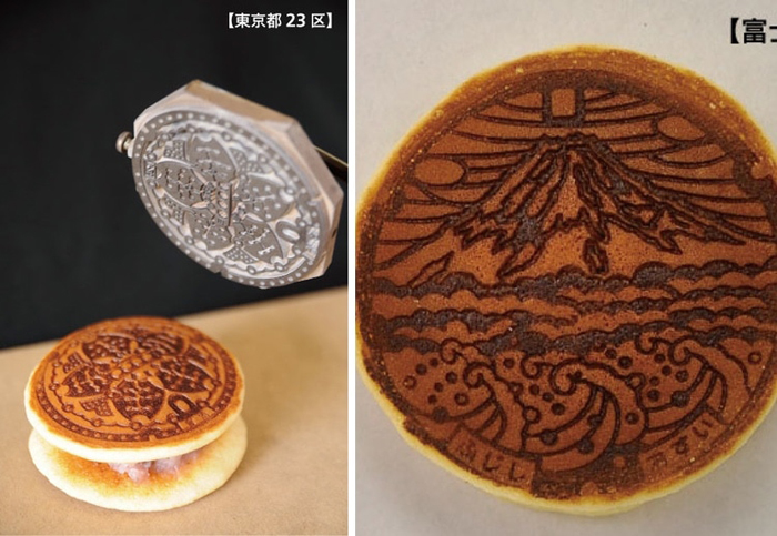 japan manhole cover festival sweets