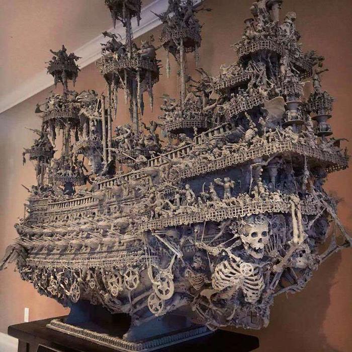 jason stieva ghostly pirate ship