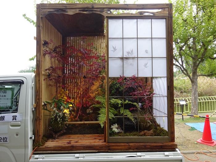 kei truck garden contest kansai ueki