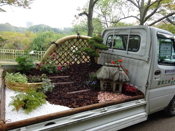 kei truck garden contest sancho garden