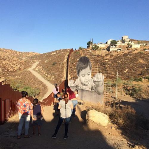 kikito mexico border art installation location