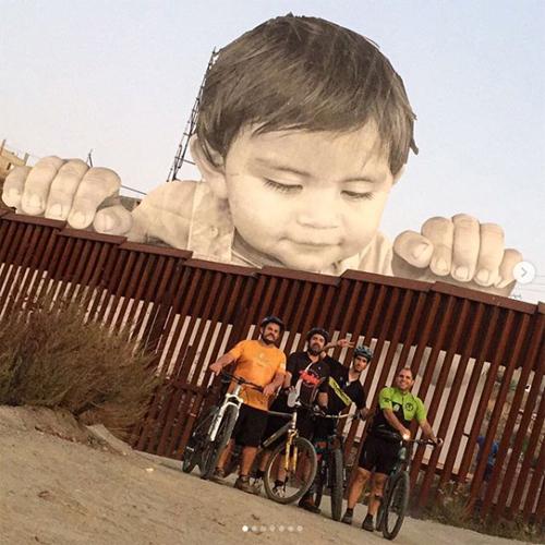kikito mexico border art installation site