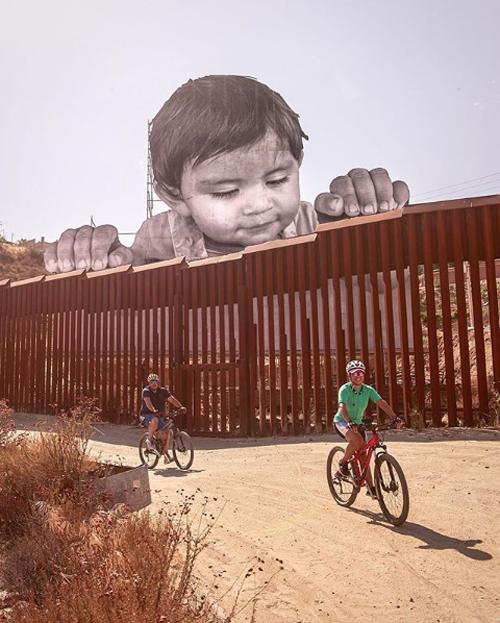 kikito mexico border art installation
