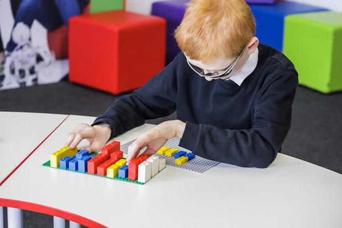 lego braille bricks for blind children
