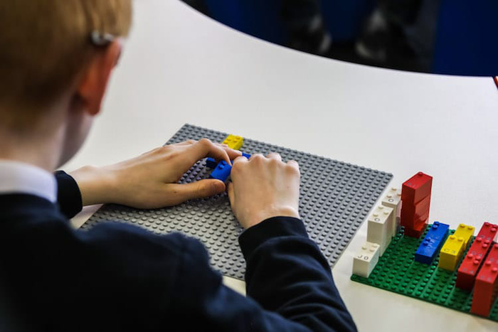 lego for the blind
