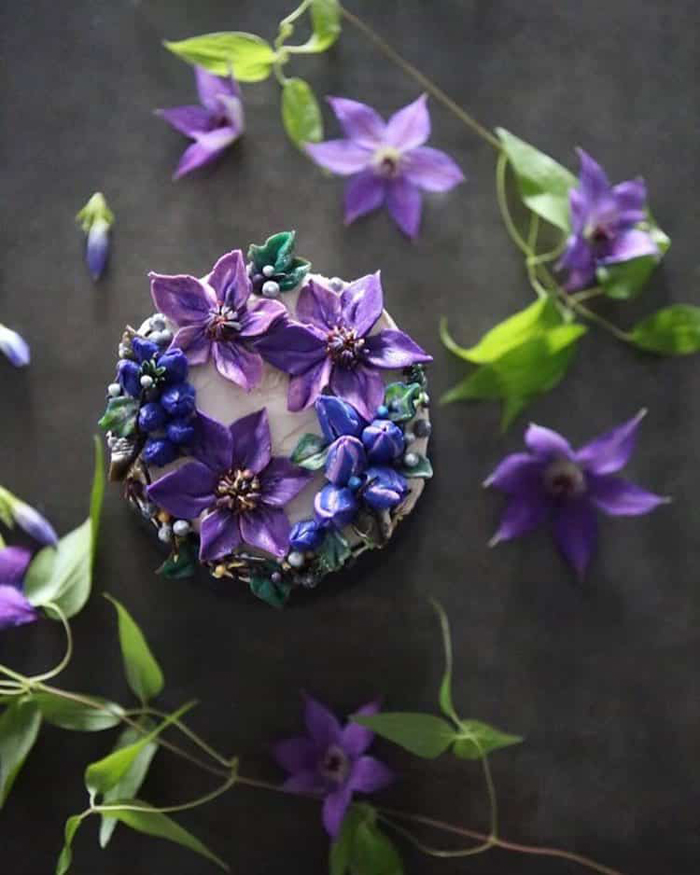 lifelike buttercream flowers by atelier soo