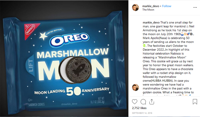 markie_devo instagram marshmallow moon oreo