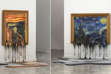 melting paintings