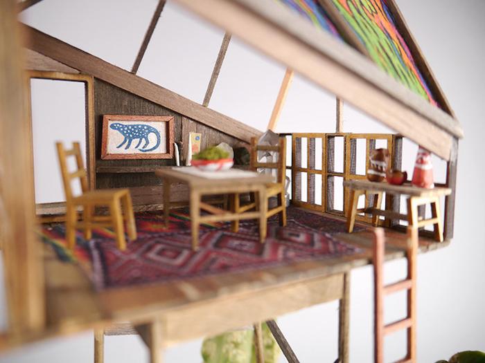 miniature tree houses mini decors