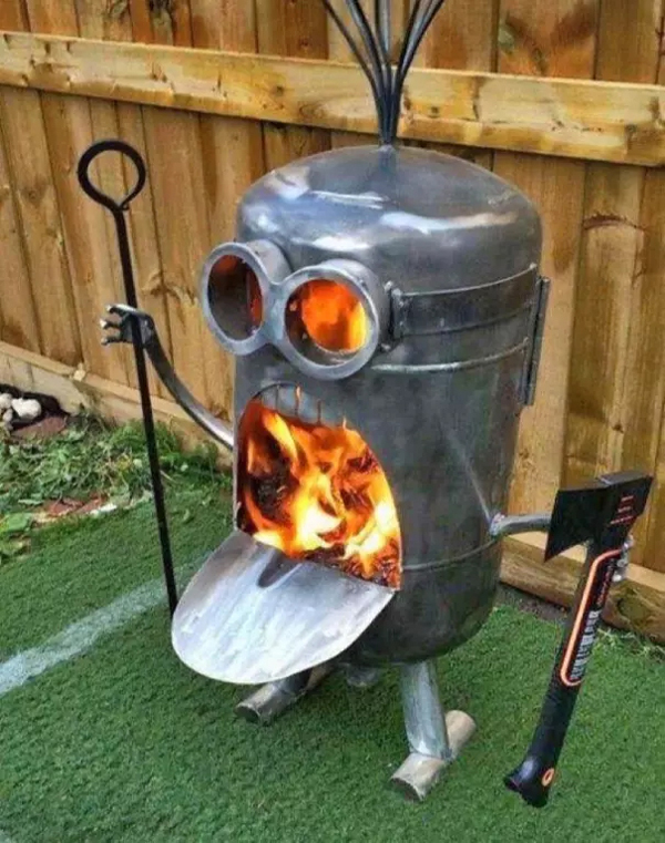minion fire pit awful taste perfect execution