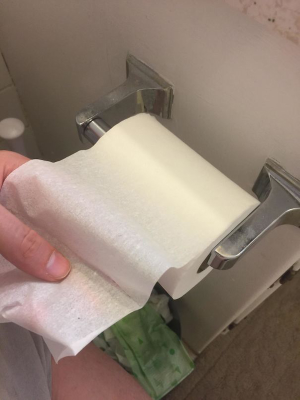 monster roommate one ply toilet paper