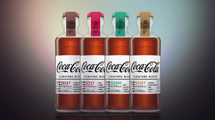 new coca-cola signature mixers