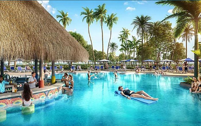 oasis lagoon cabanas