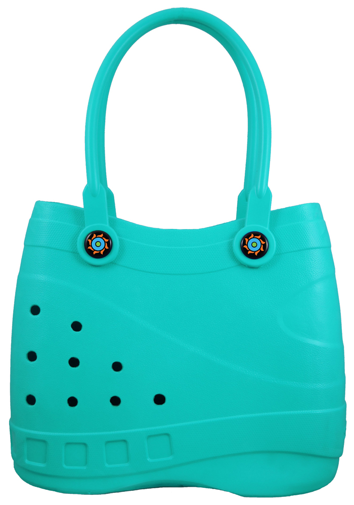 optari crocs-inspired handbags