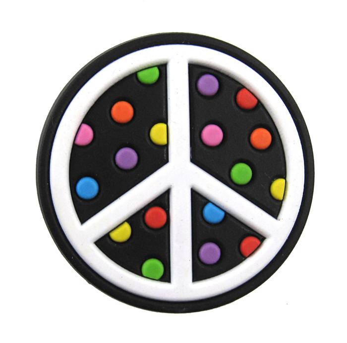 optari fobbz charms peace symbol