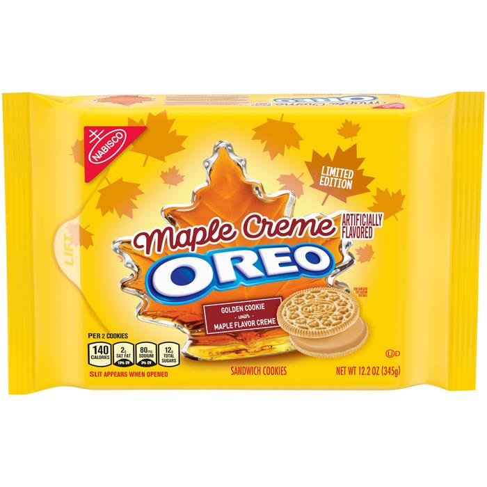 oreo maple creme flavor