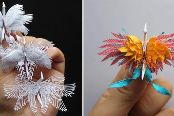 paper cranes art