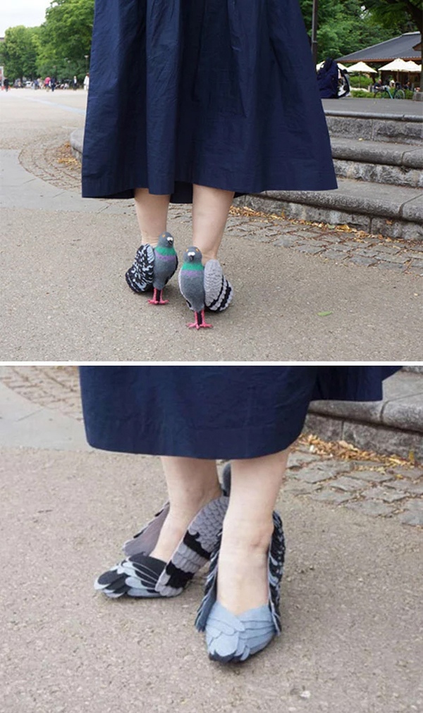 pigeon heels awful taste perfect execution