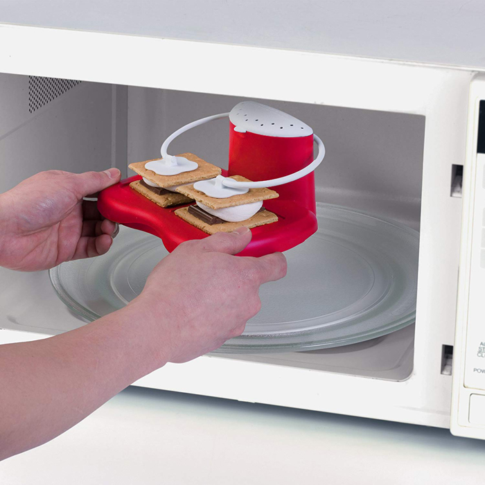 progressive s'mores maker microwave