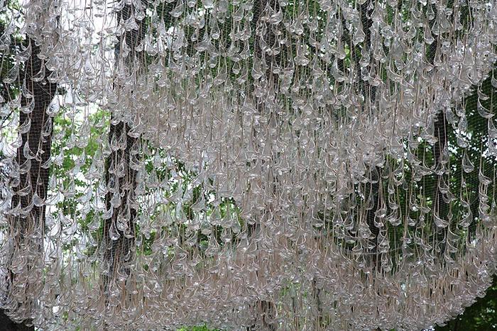 reservoir rainwater chandelier globules