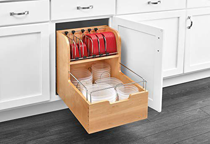 rev-a-shelf drawer kitchen splurges