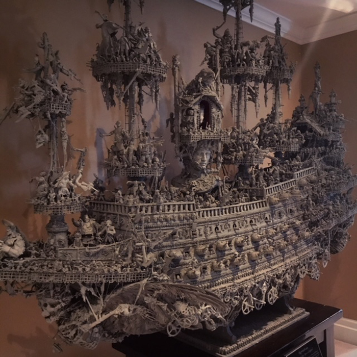shallow grave studios ghostly pirate ship