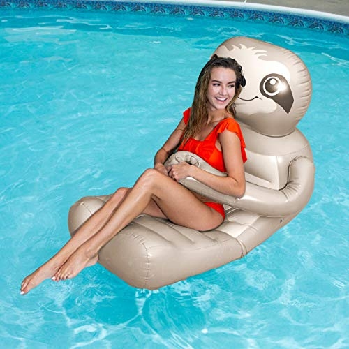 sloth pool float swimways