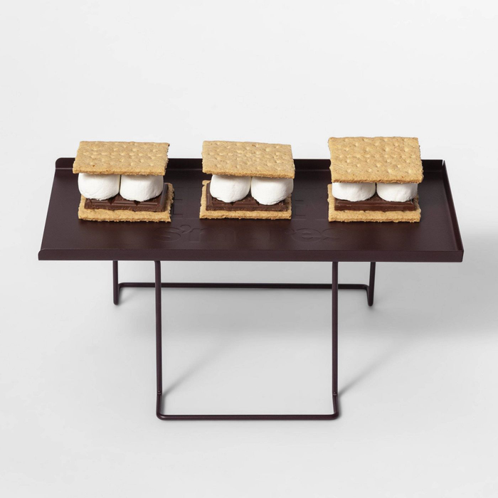 s'mores melting tray target