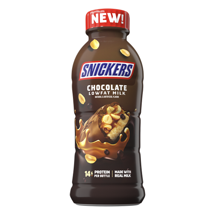 snickers chocolate milk mars nestle