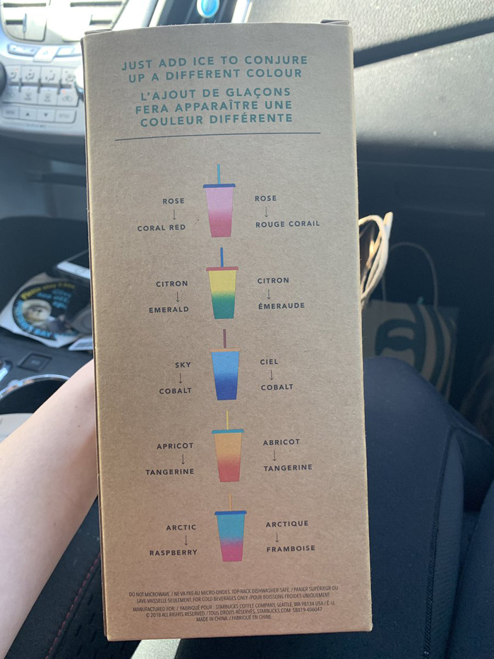 starbucks color-changing cups