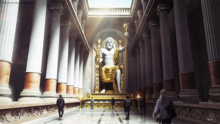 statue of zeus reconstructed