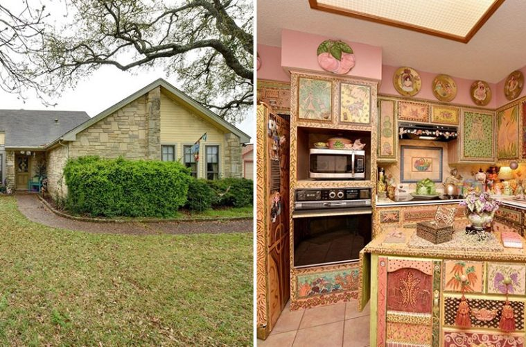 strange texas house