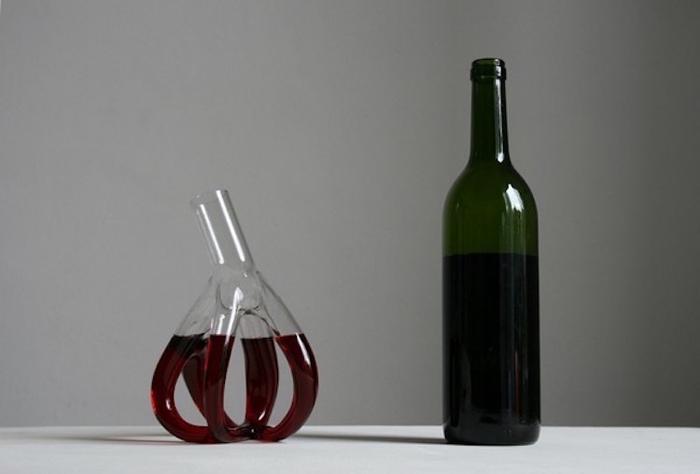 strange wine decanters