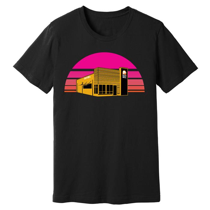 taco bell summer t-shirt