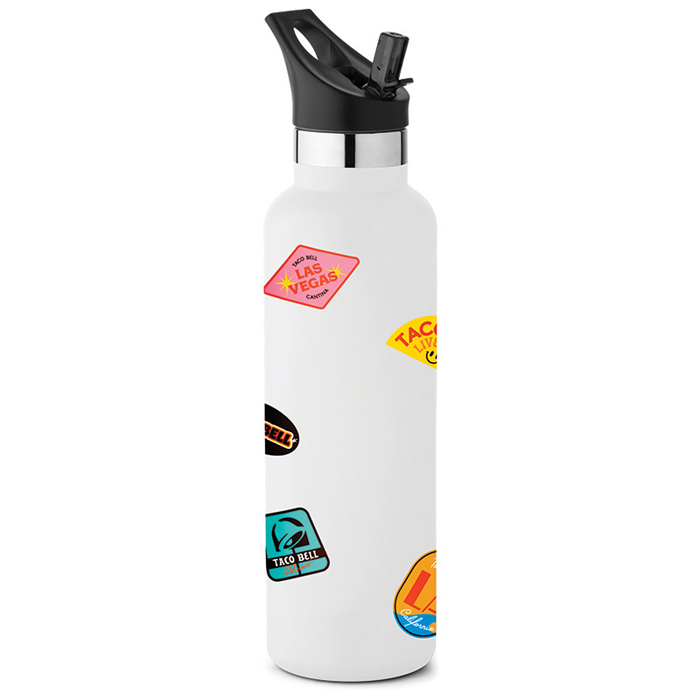 taco bell summer waterbottle