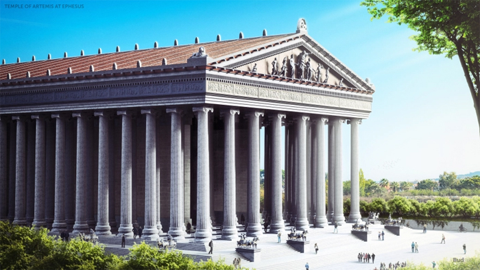 temple of artemis reconstructed