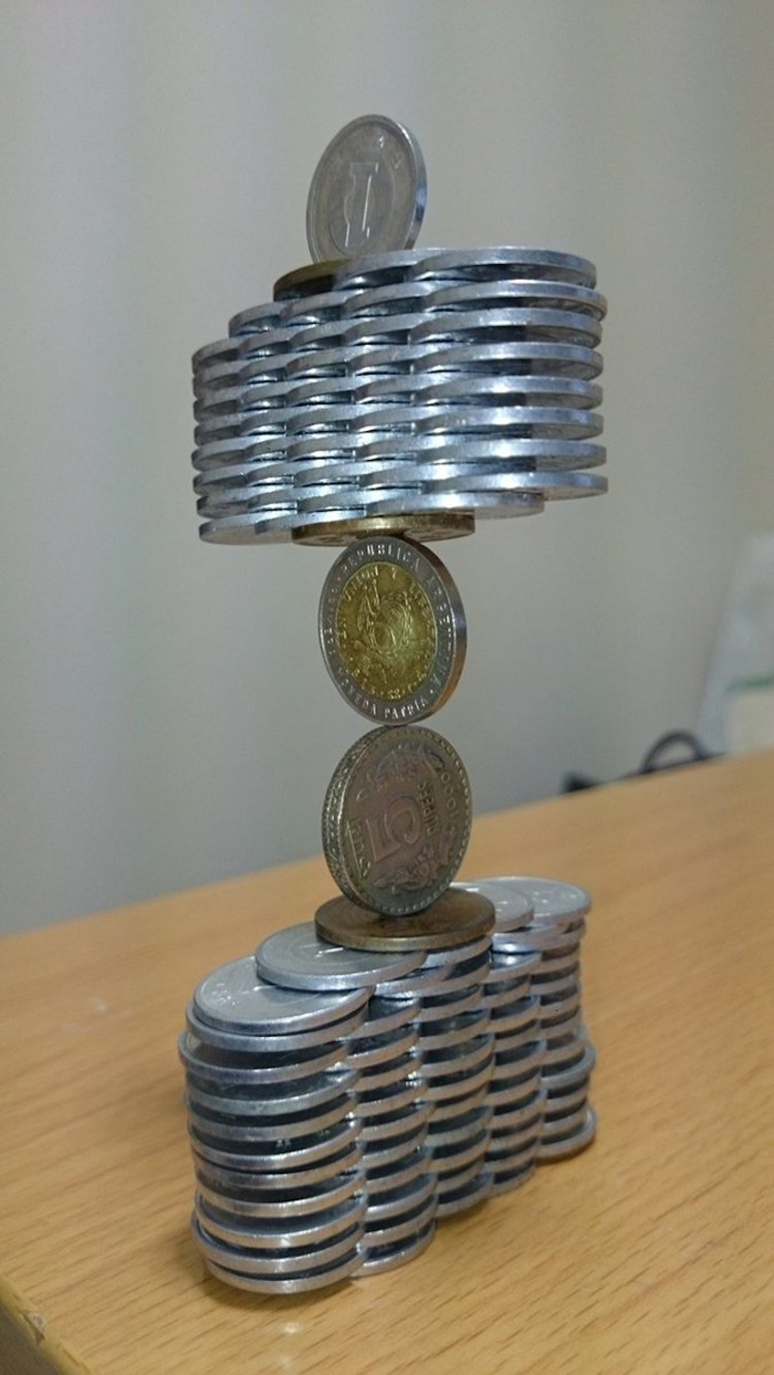 thumb tani coin stacking sculptures balance