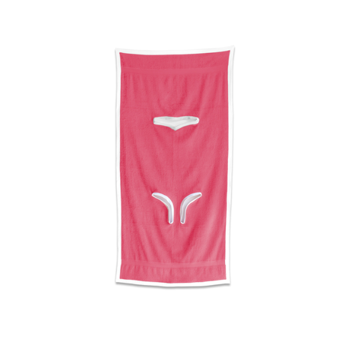 towelkini hot pink color