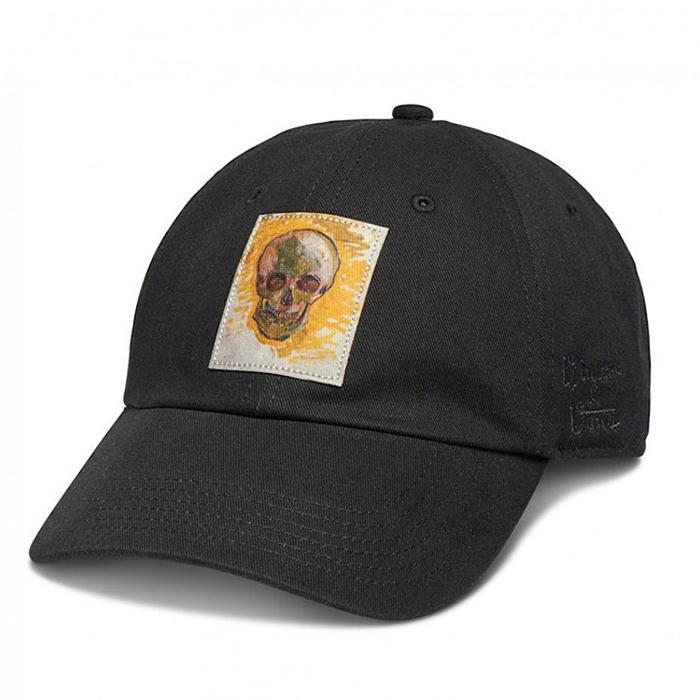 vans cap van gogh skull