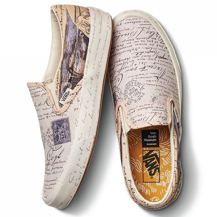 vans shoes van gogh handwriting