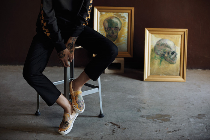 vans van gogh-inspired fashion line
